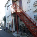 板橋区成増の鉄骨階段塗装工事の事例です