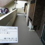 共用廊下シート張替工事