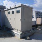 屋上受電設備塗装工事